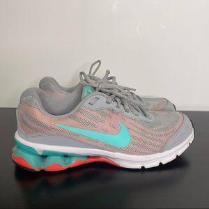 Nike Reax Run 9 Running Shoe Coral Turquoise 7.5